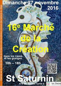 Exposition d'artisans a St Saturnin
